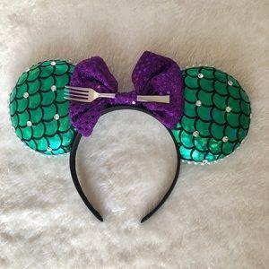 Mickey ears - The Little Mermaid theme
